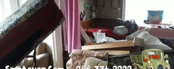 Бакърена Фабрика почистване на клошарско жилище