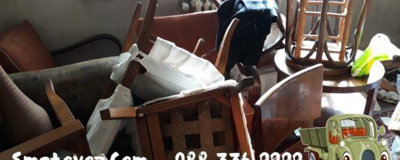 Опразване на жилище с мебели