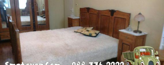 Гевгелийски изхвърляне на стар матрак и легло