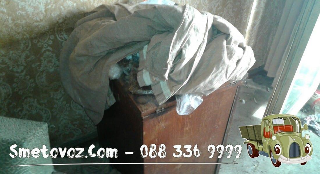 Услуга за изхвърляне на клони Захарна Фабрика