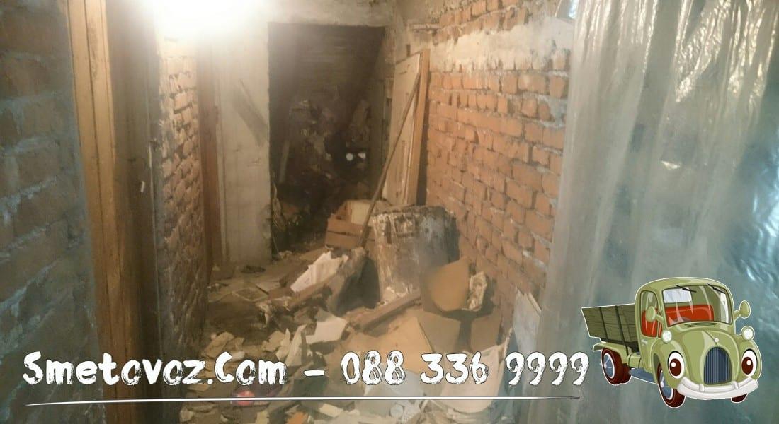 Почистване на мазета и тавани със сметовоз в София