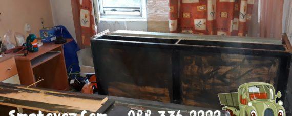 Сметовоз евтино изхвърля на мебели