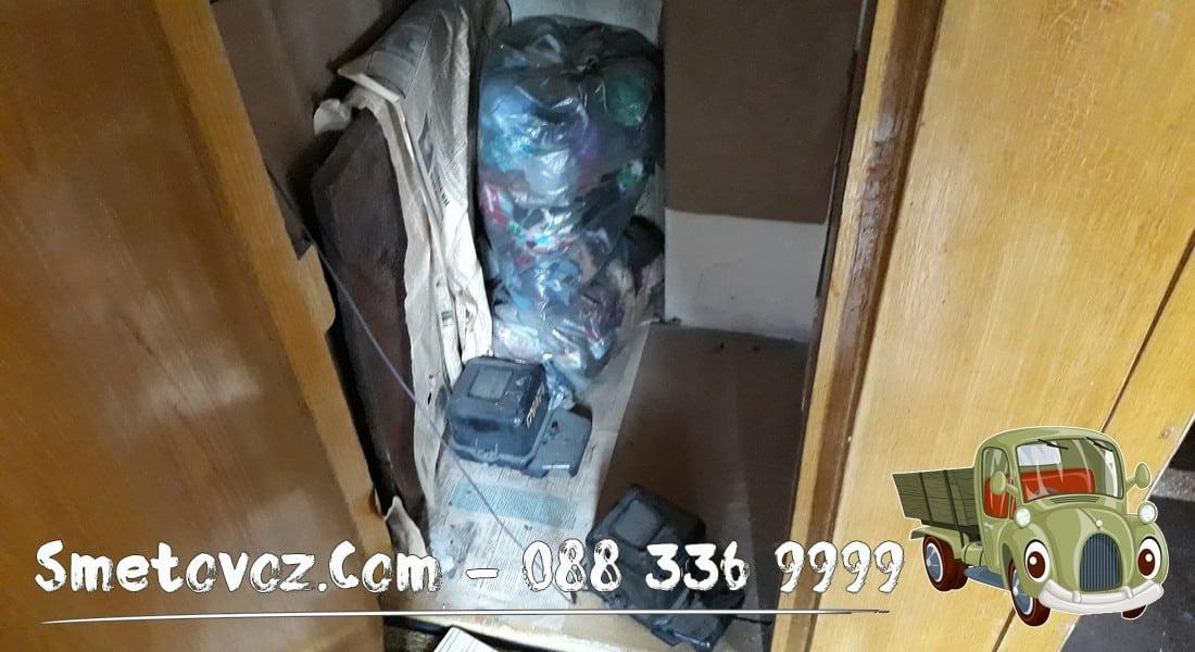 Опразване на апартамент с боклук Люлин 10
