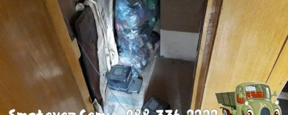 опразване на жилища с мебели от Надежда 4