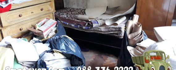 почистване на фекалии в мазе Димитър Миленков
