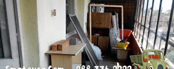 Фирми изхвърлят от апартамент Бели Брези