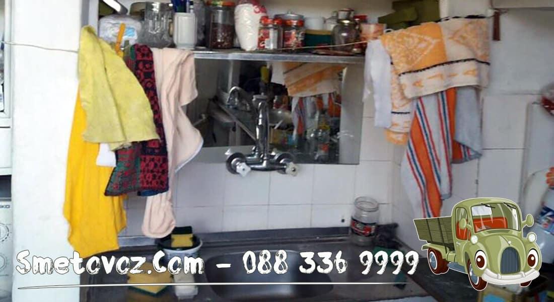 Изхвърлят мебели от апартамент Слатина мебели от апартамент Подуяне