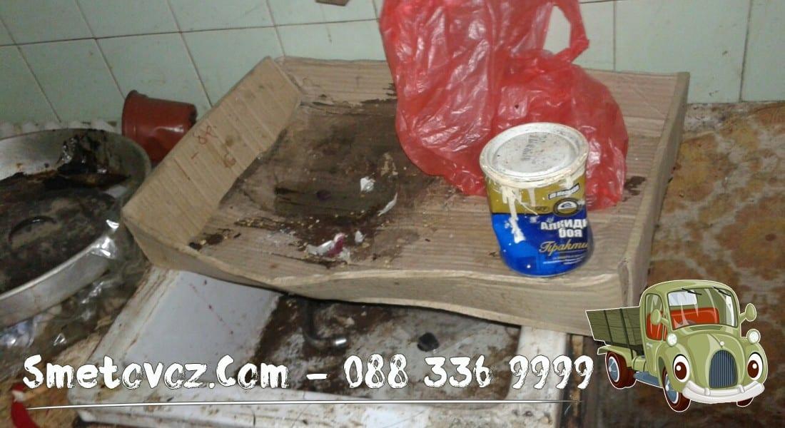 Цени за изхвърля мебели от апартамент Люлин 5