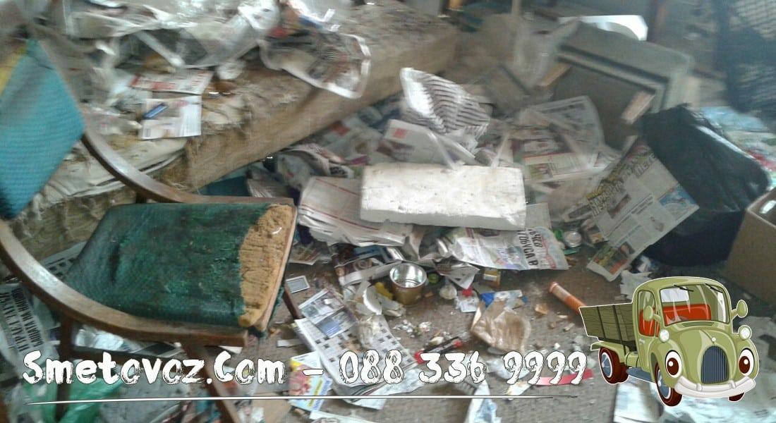Фирма изнася стар диван в Люлин 8