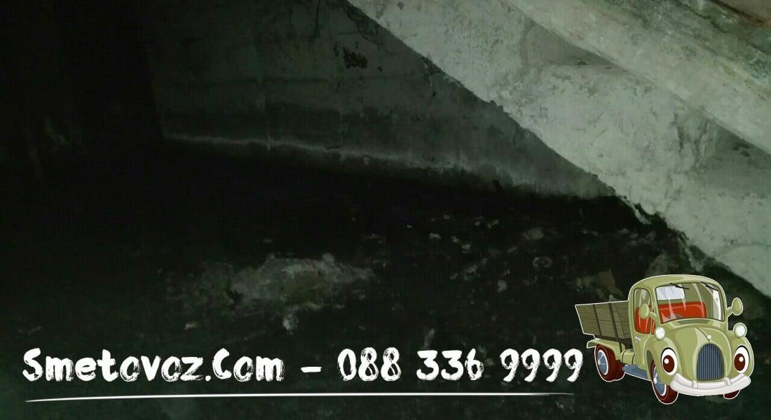 Фирма изхвърля метален боклук в Разсадника